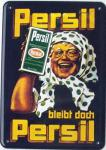 Blechpostkarte Persil bleibt doch Persil (Oma)