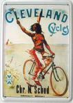 Blechpostkarte Cleveland Cycles