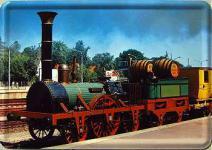 Blechpostkarte Lokomotive Adler