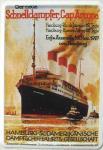Blechpostkarte Schnelldampfer Cap Arcona