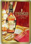 Blechpostkarte Springer Urvater
