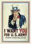 Magnet I Want You...For U.S. Army