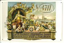 4711 Eau de Cologne Blechschild