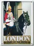 London Heart of the Empire Mini-Blechschild