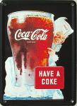 Coca Cola Have a Coke Mini Blechschild