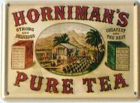 Horniman's Pure Tea Mini Blechschild