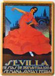 Sevilla Mini Blechschild