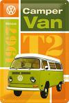 VW - Camper Van T2 Blechschild