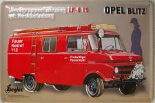 Opel Blitz Blechschild