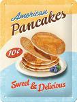 Pancakes Blechschild