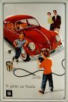 VW er gehört zur Familie Blechschild