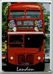 London Bus Mini Blechschild