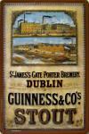Guinness Dublin Blechschild