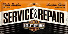 Harley-Davidson - Service and Repair Blechschild