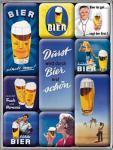 Magnet-Set Bier