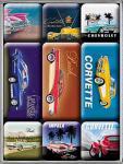 Magnet-Set US-Cars