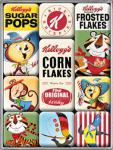 Magnet-Set Kelloggs Characters