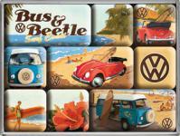 Magnet-Set VW Beach