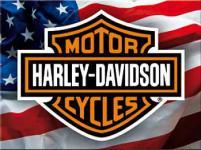 Magnet Harley Davidson USA