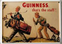 Guinness thats the Stuff Mini Blechschild