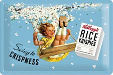 Kellogg's - Swing to Crispness Blechschild