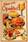 Opekta - Alles mit Opekta Blechschild