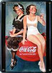 Coca Cola Badenixen Mini Blechschild