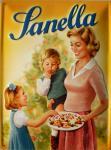 Sanella - Mutter mit Kindern No.1 Blechschild