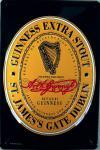Guinness Black Label Blechschild