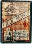 William Jameson - Dublin Destilleries Mini Blechschild