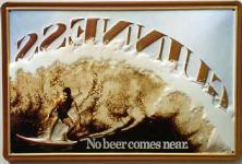 Guinness Surfer Blechschild