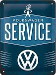 VW - Service Blechschild
