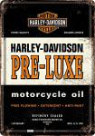 Blechpostkarte Harley-Davidson - PRE-LUXE