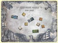 Magnet-Tafel Deutsche Mark Blechschild