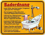 Funschild Badordnung