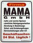 Funschild Firma Mama GmbH