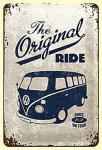 VW The Original Ride Blechschild