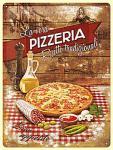 Pizzeria Blechschild