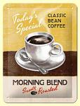 Classic Bean Coffee - Morning Blend Blechschild