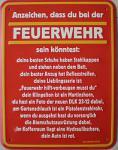 Fun-Schild Feuerwehr... Anzeichen