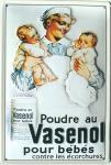 Vasenol pour bebes Blechschild