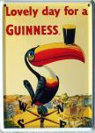 Guinness Tukan Mini Blechschild
