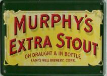 Murphy's Extra Stout Mini Blechschild
