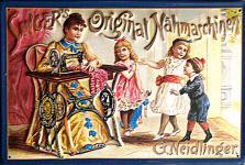 Singer original Nähmaschinen Blechschild