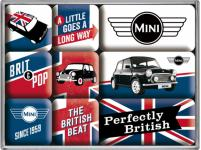Magnet-Set - Mini Cooper Union Jack