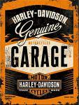 Magnet Harley Davidson - Garage