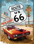 Magnet Route 66 Red Car