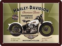 Harley-Davidson - Knucklehead Blechschild