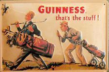 Guinness that's the stuff Blechschild