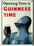 Guinness Ritter Mini Blechschild